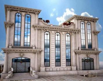 نماسازی ساختمان مدرن